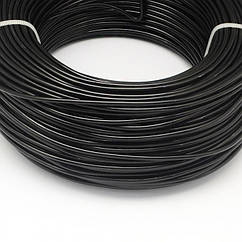 Алюмінієва Дріт 0.8 мм/300м, Колір: Чорний, Товщина 0.8 мм, 300м/котушка, (УТ100024616)