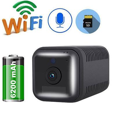 Мини камера wifi беспроводная с большим аккумулятором 6200 мАч ESCAM G18, FullHD 1080P,  датчик движения
