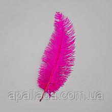 Страусиное перо 25-30 см ярко-фиолетовый