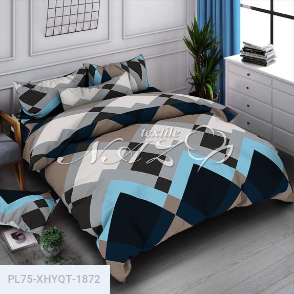 Плитка мозаика - Бязь 3D - Двухспальный комплект