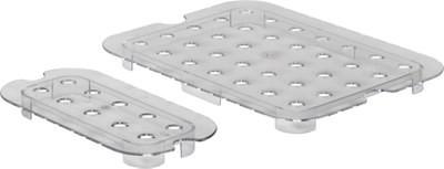 Решетка к гастроемкости из поликарбоната 1/1, 530x325 мм