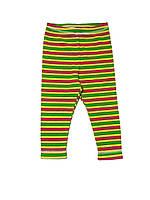 Детские леггинсы 62, желтый/зеленый/красный