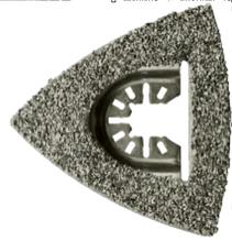 Полотно пильное на Реноватор Твердосплавный дельта-рашпиль, размер: 80 мм (3-1 / 8 дюйма)