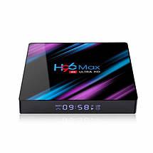 Приставка Smart Iptv TV Box H96 maх 4/64 Гб на Android 10.0, смарт тв приставка, медиаплеер HD Int, фото 2