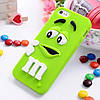 Чехол M&M's для Apple iPhone 5/5s зеленый