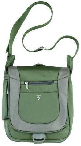 """Мужская компактная сумка с отделением для планшета 7""""-10"""" Sumdex PJA-645GT зеленый"""
