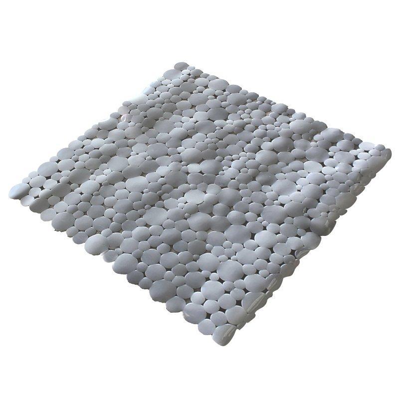 Килимок у ванну кімнату Bathlux Hojas 40261 антиковзаючий гумовий 53х53 см SKL11-132568