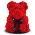 Мишка из роз, 25 см KS Bear Flowers KS B1 Red SKL11-148567, фото 2