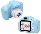 Детская фотокамера c 2.0 дисплеем и с функцией видео синяя SKL11-290088, фото 3
