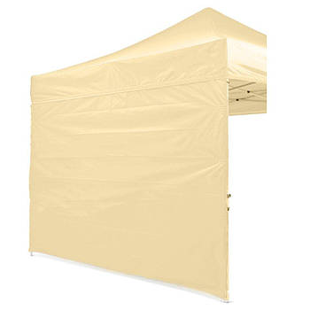 Боковая стенка на шатер - 9м ( 3 стенки на 3*3) БЕЖЕВЫЙ
