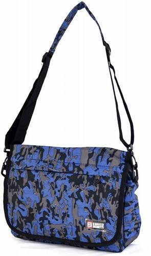 Потрясающая молодежная сумка Enrico Benetti полиэстер 43076022 синяя