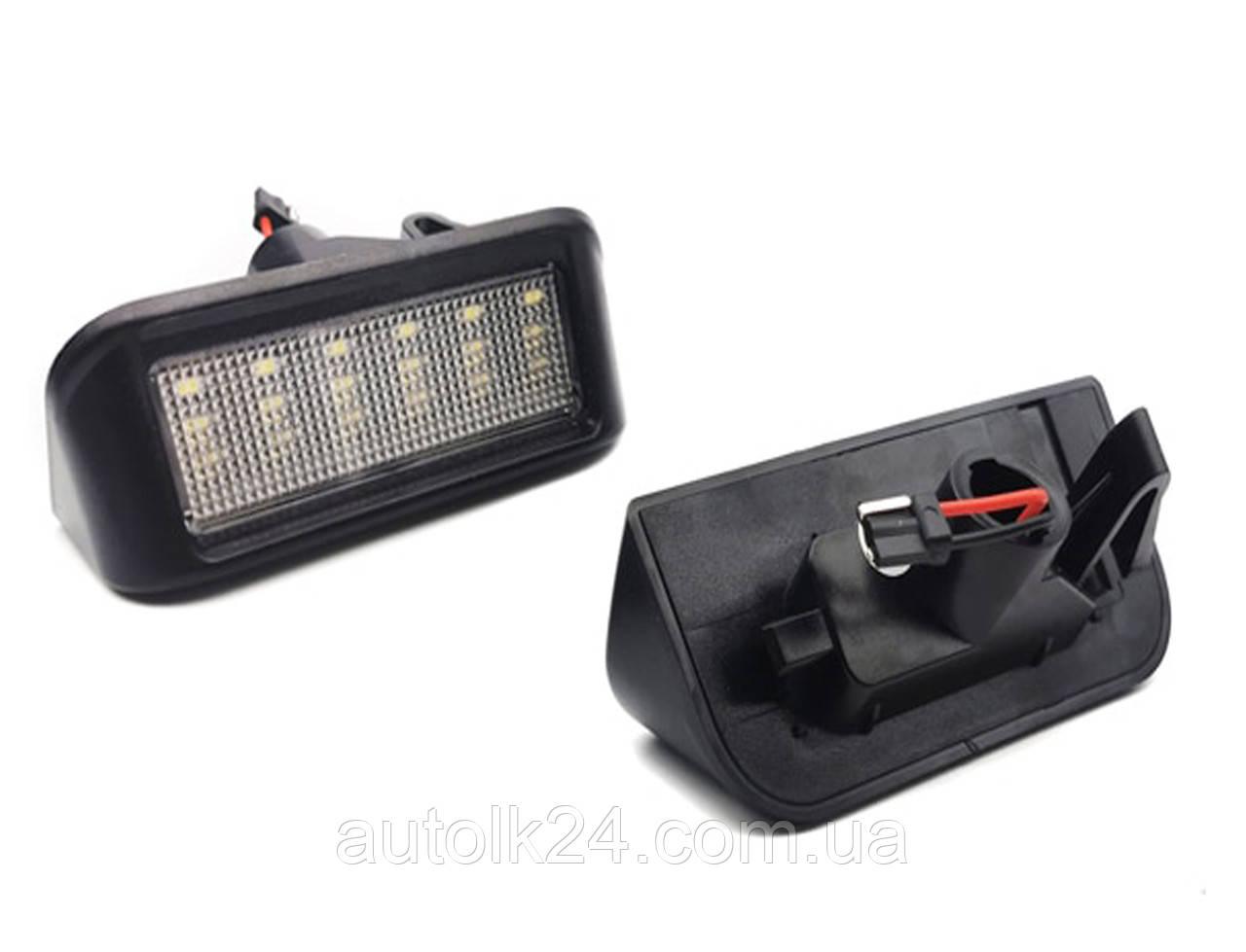 LED Подсветка номера Toyota Camry, Avensis, Prius.