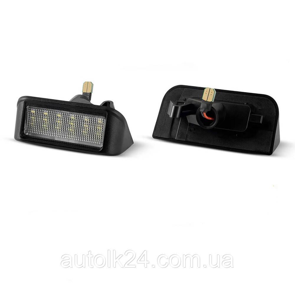 Штатна LED Підсвітка номера Fiat Scudo