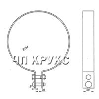Хомут для подвешиваня троса КС-133