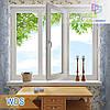 Трехчастное окно WDS Millenium, WDS 400, WDS 4 Series, WDS 500, WDS 7 Series