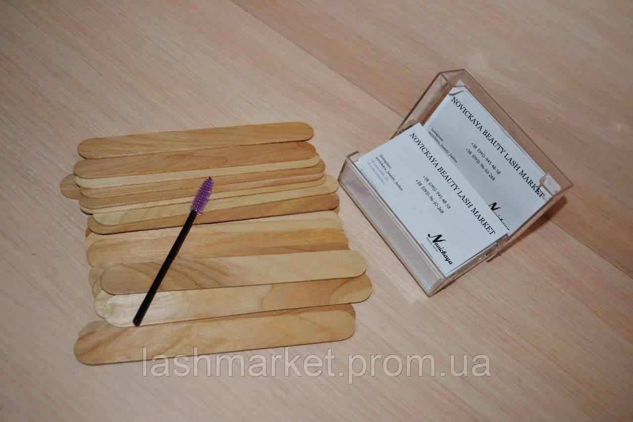 Шпатель деревынный 100 шт
