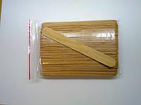 Шпатель одноразовый дерев. для депиляции, 100 шт (п/э уп)