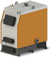 """Твердотопливный котел КВ-65 с электронной автоматикой """"TECH"""" и функцией zPID"""