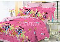 Детский полуторный постельный комплект белья Винкс