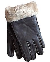 Мужские зимние перчатки дубленка XL и L рр