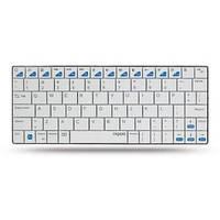 Клавиатура RAPOO E6300 Bluetooth Ultra-slim Keyboard for iPad white