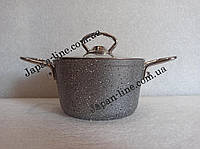 Кастрюля OMS 3111S-14-0,9л-Grey