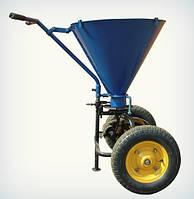 Разбрасыватель песка (на резиновых колесах)