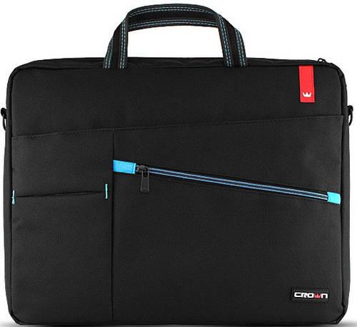 """Практичная, стильная сумка для ноутбука до 15,6"""" Crown CMB-557 черная"""