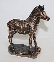 Статуэтка Зебра с медным покрытием 0032-2