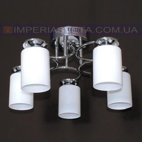 Потолочная люстра LED IMPERIA пятилмповая с диодной подсветкой LUX-531313