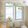 Окно с фрамугой профиль WDS