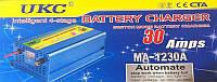 Зарядное устройство для Аккумулятора  UKC MA 1230 30A