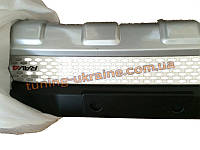 Накладка на бампер передняя Toyota RAV4 2013+