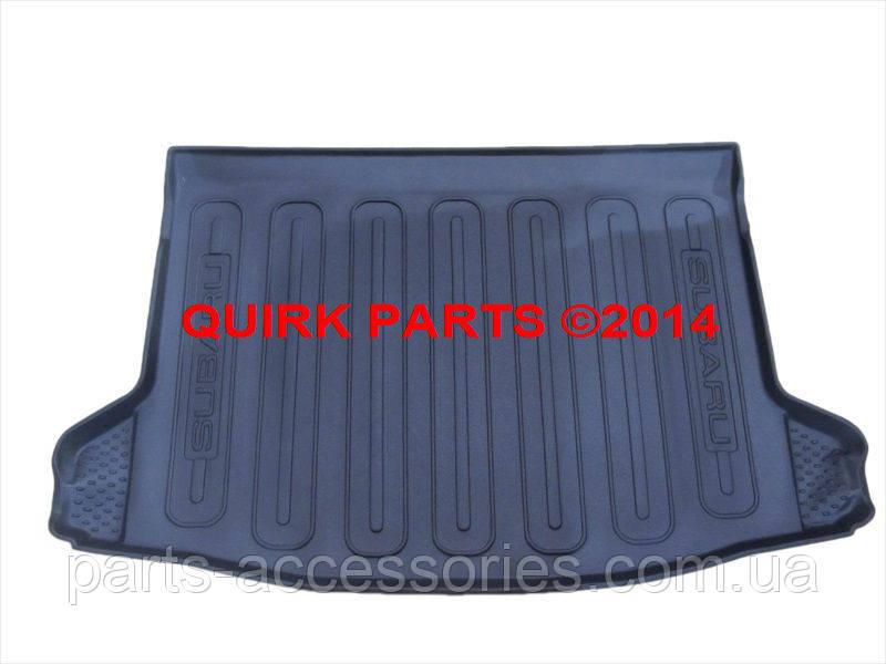 Subaru XV Crosstrek 2013-2016 килимок гумовий в багажник новий оригінальний