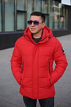 Куртка чоловіча Kings Wind 1W17 ЧЕРВОНА 100% поліестер. Утеплювач: Біо пух 46(Р)
