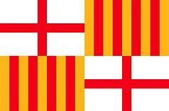 Прапор Барселони (Іспанія)