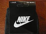 """Підліткові махрові шкарпетки """"в стилі"""" """"Nike"""". р. 36-41. Туреччина, фото 3"""
