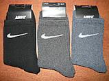 """Підліткові махрові шкарпетки """"в стилі"""" """"Nike"""". р. 36-41. Туреччина, фото 2"""