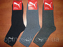 """Підліткові махрові шкарпетки """"в стилі"""" """"Puma"""". р. 36-41. Туреччина"""