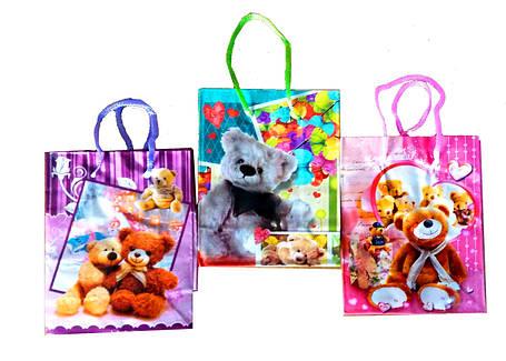 """Пакет подарочный бумажный """"Мишки"""", фото 2"""