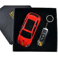 Подарочный набор, сувенирная зажигалка + брелок Porsche Cayenne
