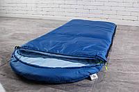 Детский туристический спальный мешок Синего цвета