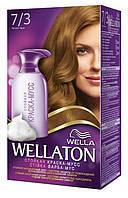 Краска-мусс для волос стойкая WELLATON 7/3 Лесной орех . дата выпуска 07.15г