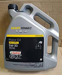 Моторне масло Renault Logan MCV 2 Renault Groupe Castrol GTX RN 5W30 RN 720 (5л)(оригінал)