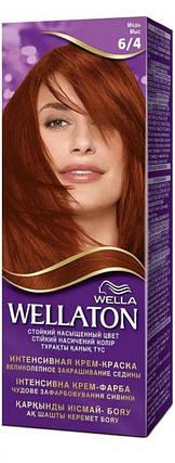 Крем-краска для волос стойкая WELLATON 6/4 Медь, фото 2