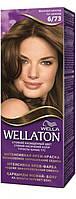 Крем-краска для волос стойкая WELLATON 6/73 Молочный шоколад