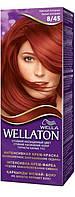 Крем-краска для волос стойкая WELLATON 8/45 Красный Колорадо