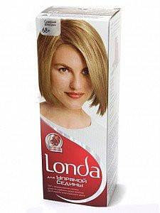 Крем-краска для волос стойкая LONDA для упрямой седины 68 Средний блондин , фото 2