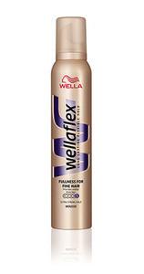 Мусс WELLAFLEX Объем для тонких волос, суперсильной фиксации 200 мл