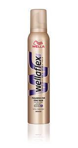 Мусс WELLAFLEX Объем для тонких волос, суперсильной фиксации 200 мл, фото 2